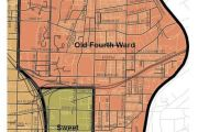 Old Fourth Ward Map GA